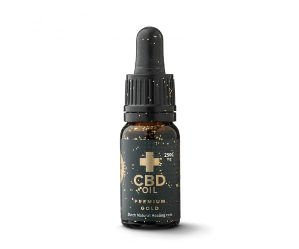 BCD 2500mg - Gold 10ml