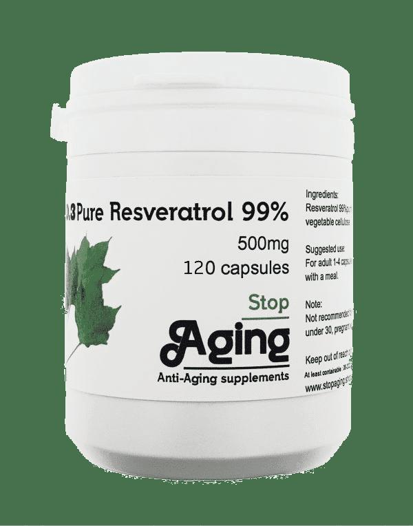 Trans Resveratrol 120 capsules